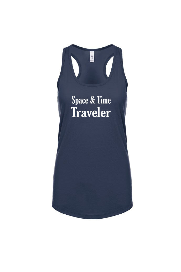 Space and Time Traveler Racerback Tank