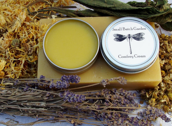 Comfrey Cream ~ Soothing & Organic Herbal Salve For Abrasions to Zits and Everything In Between!