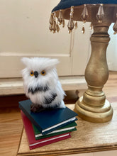 Small white owl Prop - Auspicious Laundry Store