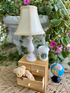 Wooden Lamp Prop