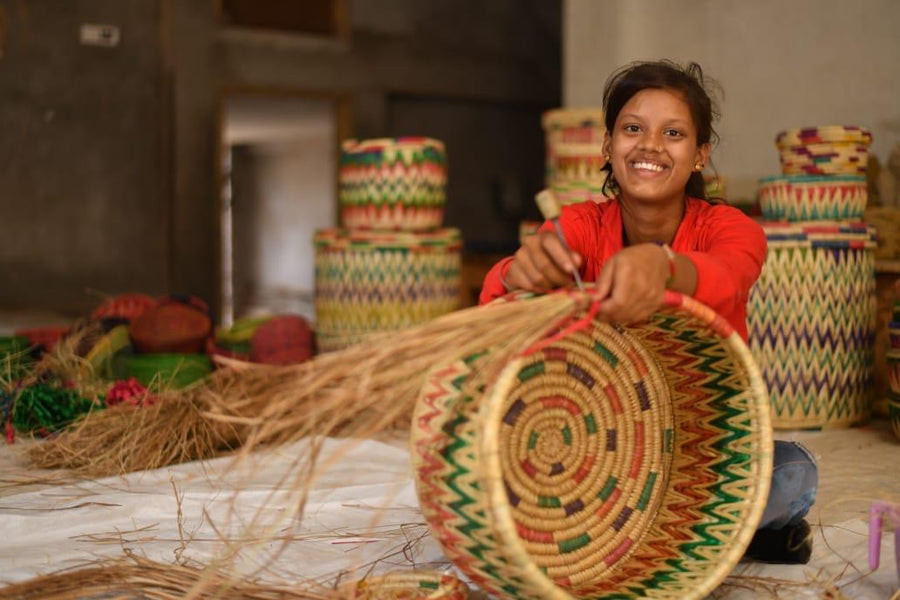 The Art of Handwoven Basket Making