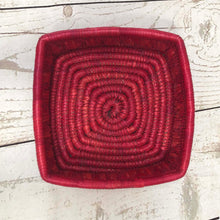 Load image into Gallery viewer, Handwoven Basket - Pink Square