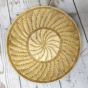 Handwoven Basket - Natural