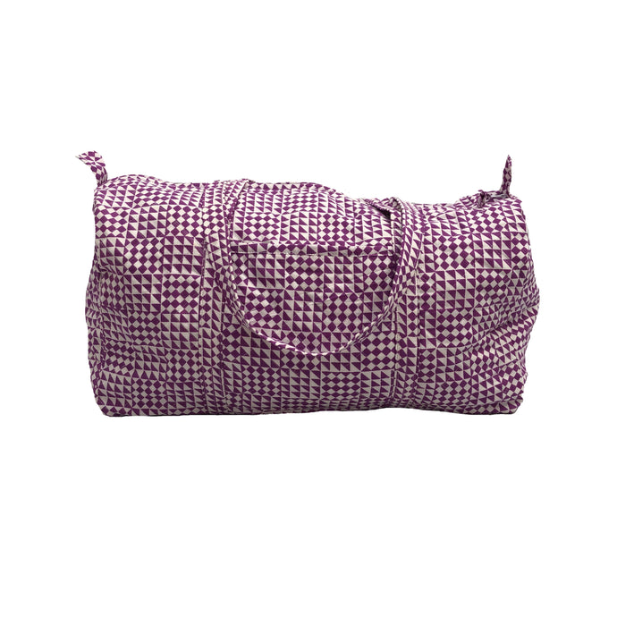 Large Duffle Bag  - Purple