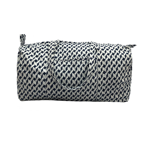 Medium Duffle Bag - Geometric