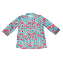 Load image into Gallery viewer, Poppy Shirt - Aqua