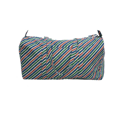 Medium Duffle Bag - Stripe