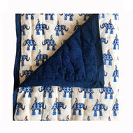 Quilted Blanket - E the Elephant