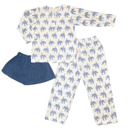 E the Elephant - 3 piece pyjama set