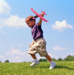 Children Toy Hand Throw Airplane Kid Outdoor Sport EPP Flying Glider Model Large Foam Aircraft Resistant Breakout Plane T0707
