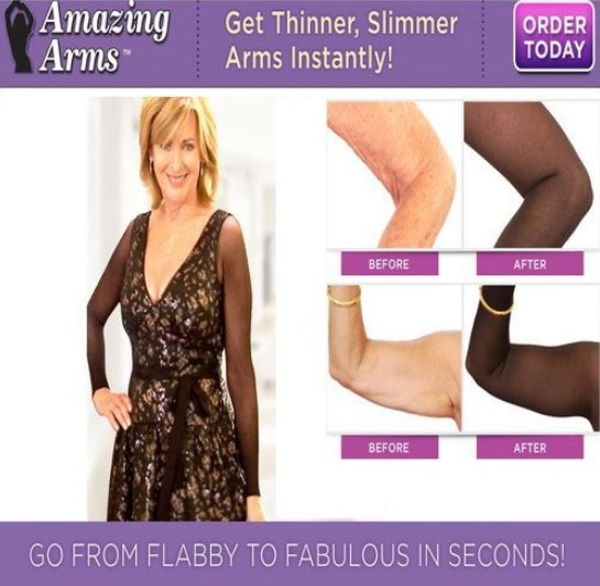 New Fashion Plus Size Arm Shaper