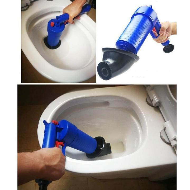 BlasterGun: Easy Unclogs Sinks and Toilets with a Trigger [FREE GIFT INCLUDED]