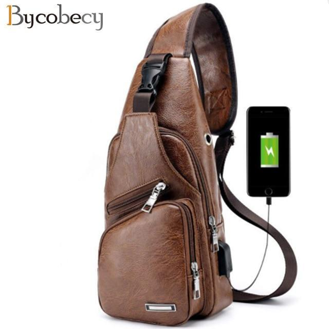 BYCOBECY 2018 Men's Chest bag
