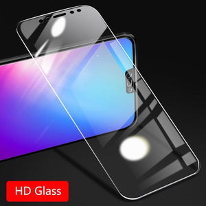 HD Tempered Glass for Huawei Mate 10 Lite Screen Protector Anti Blue Light Glass Full Cover Protective Film  Wangcangli