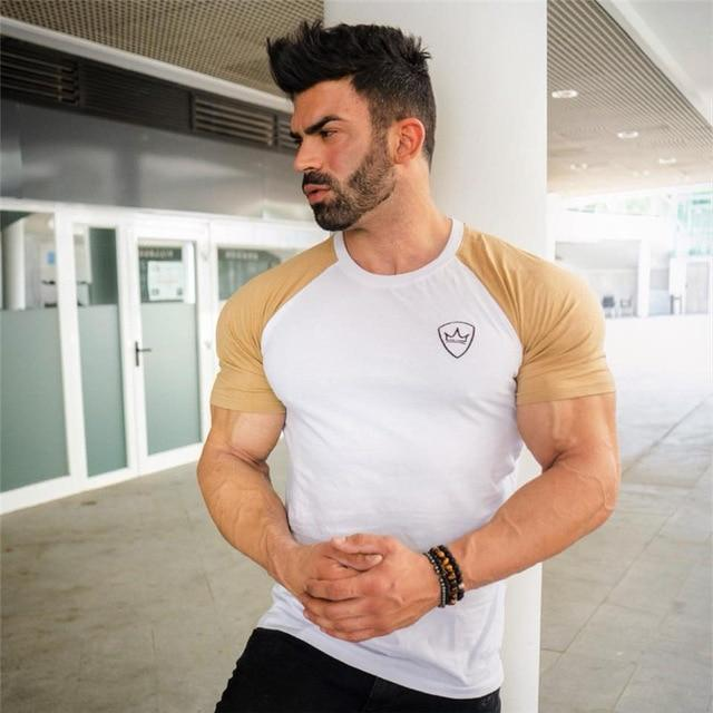 Fitness bodybuilding shirts