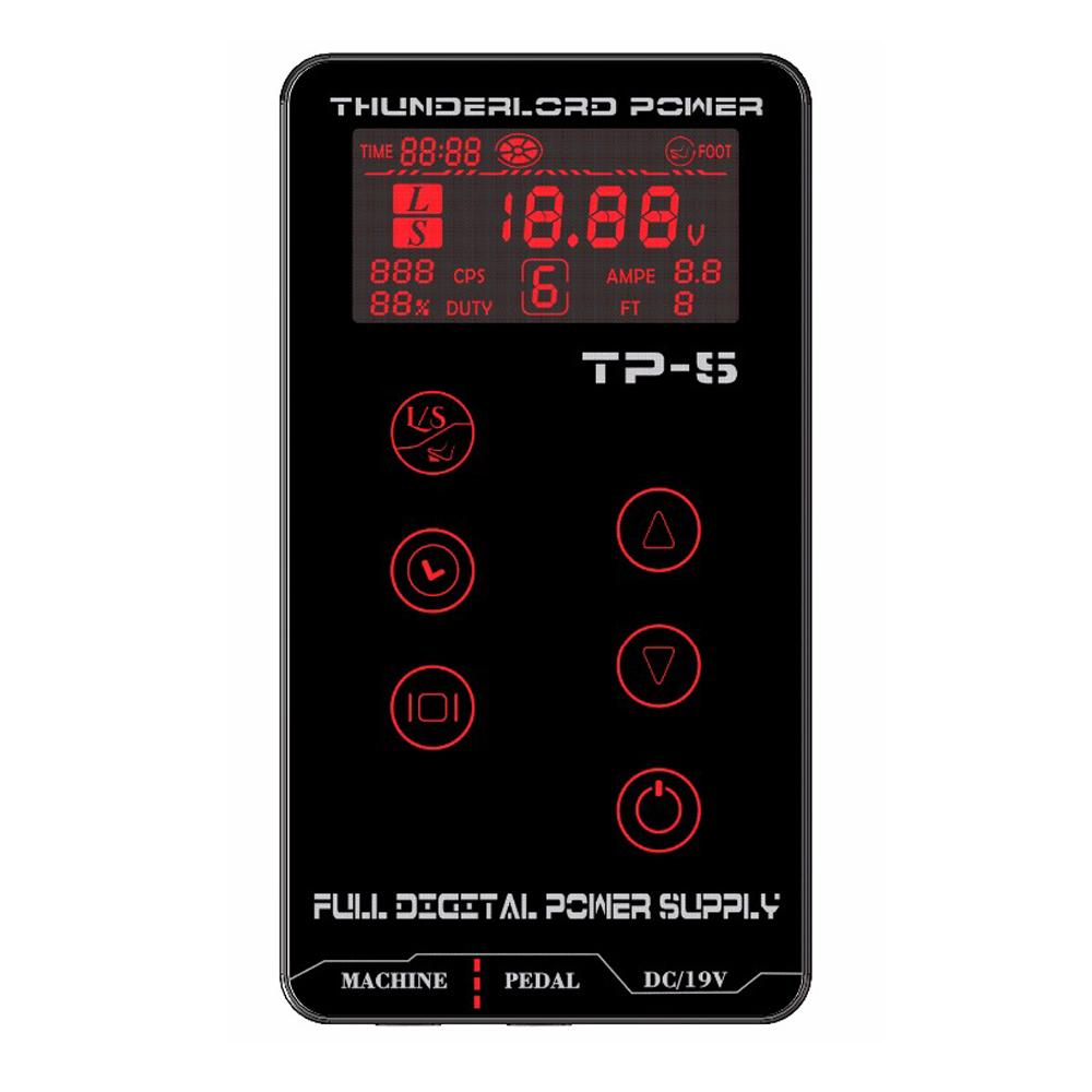 Newest Tattoo Power Supply HP-2 HURRICAN UPGRADE Touch Screen TP-5 Intelligent Digital LCD Makeup Dual Tattoo Power Supply