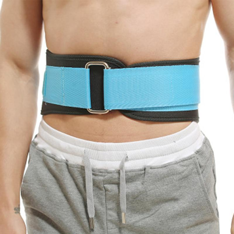 Training Fitness Protector Belt Weight Lifting Nylon Weightlifting Squat Belt Lower Back Support Gym Bodybuilding Squats