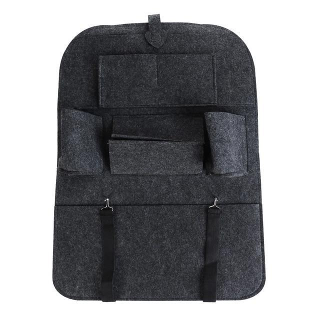Car Back Seat Storage Organizer