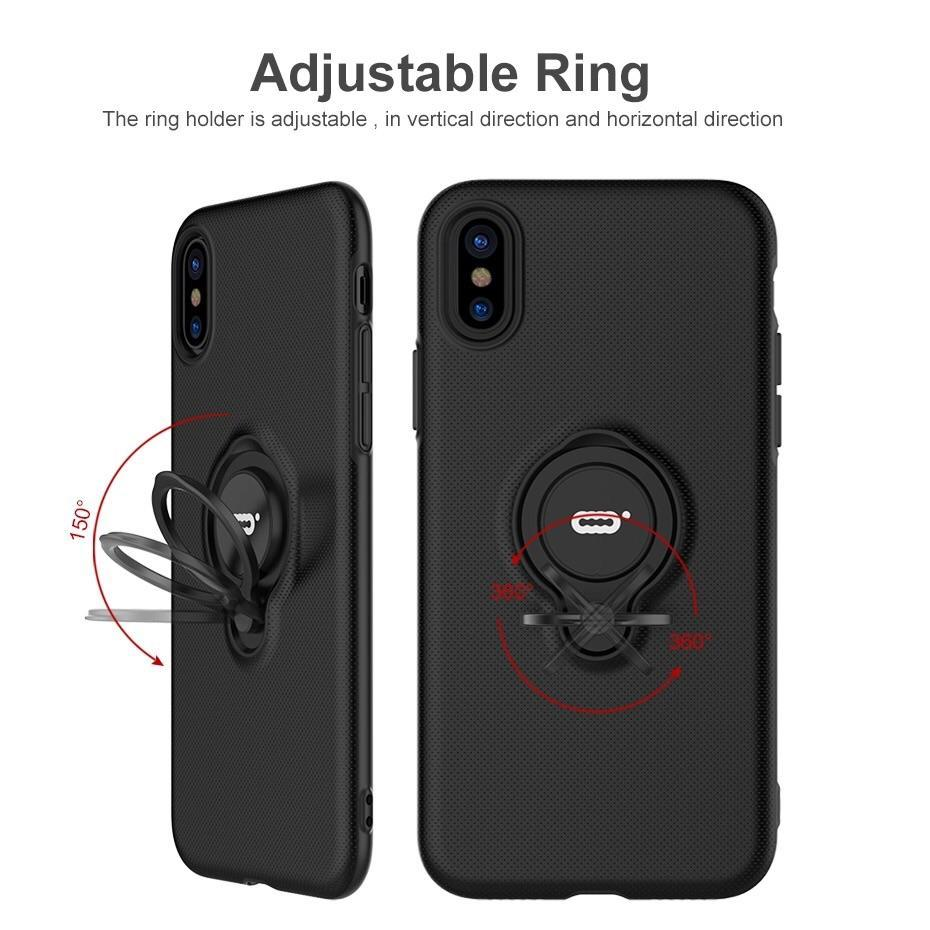 Luxury Magnetic Ring Holder Case For the new iPhone XR/XS/XS Max