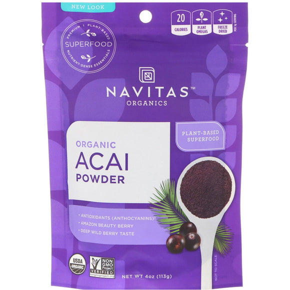 Navitas Natural 有機凍乾巴西莓粉  Navitas Organic Freeze Dried Acai Powder