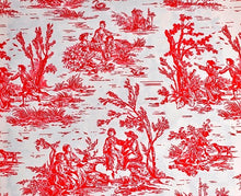 Load image into Gallery viewer, Special Order Fabric (RASBPERRY TOILE)