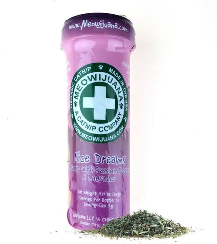 Meowijuana Mice Dreams Catnip, Passion Flower & Lavender Blend, .92 Oz