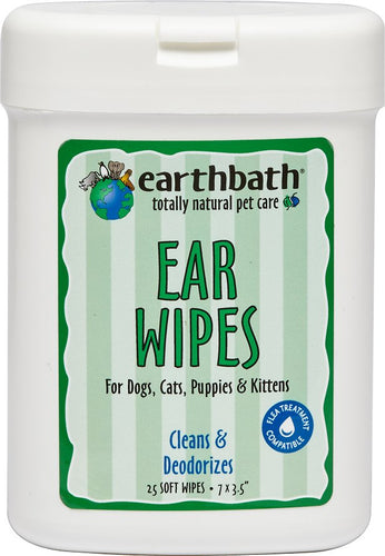 Earthbath Ear Wipes*.