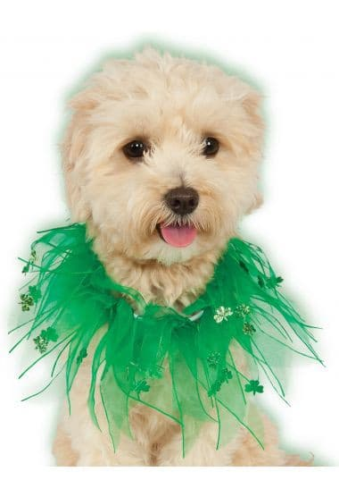 St. Patricks Organza Collar