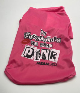 "Mean Girls ""On Wednesday We Wear Pink"" Tee"