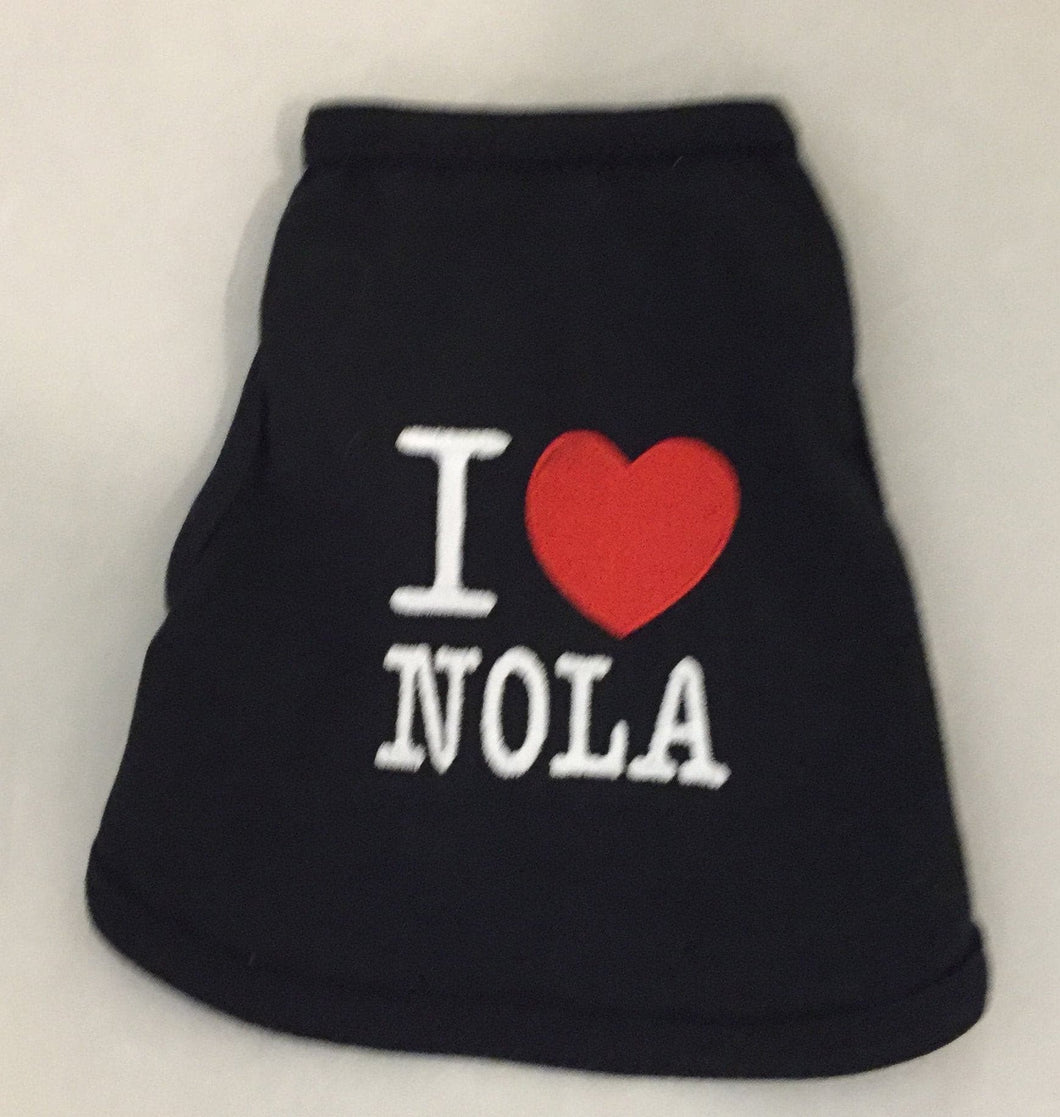 I Heart Nola Shirt - Dog*.