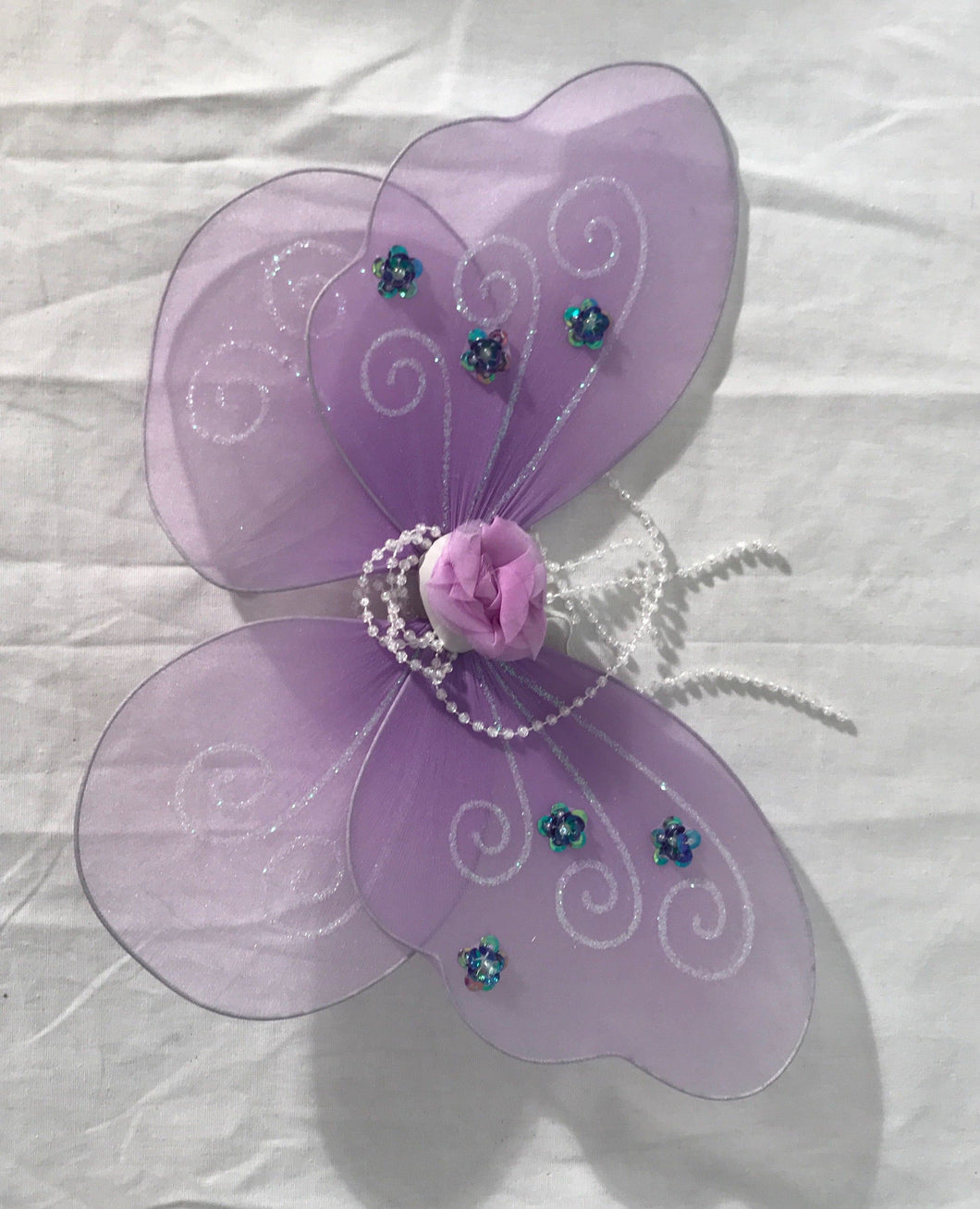 Lavender Butterfly Wings.