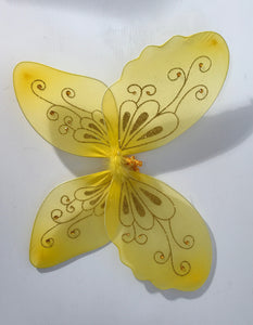 Golden Butterfly Wings