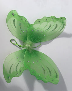 Green Butterfly Wings