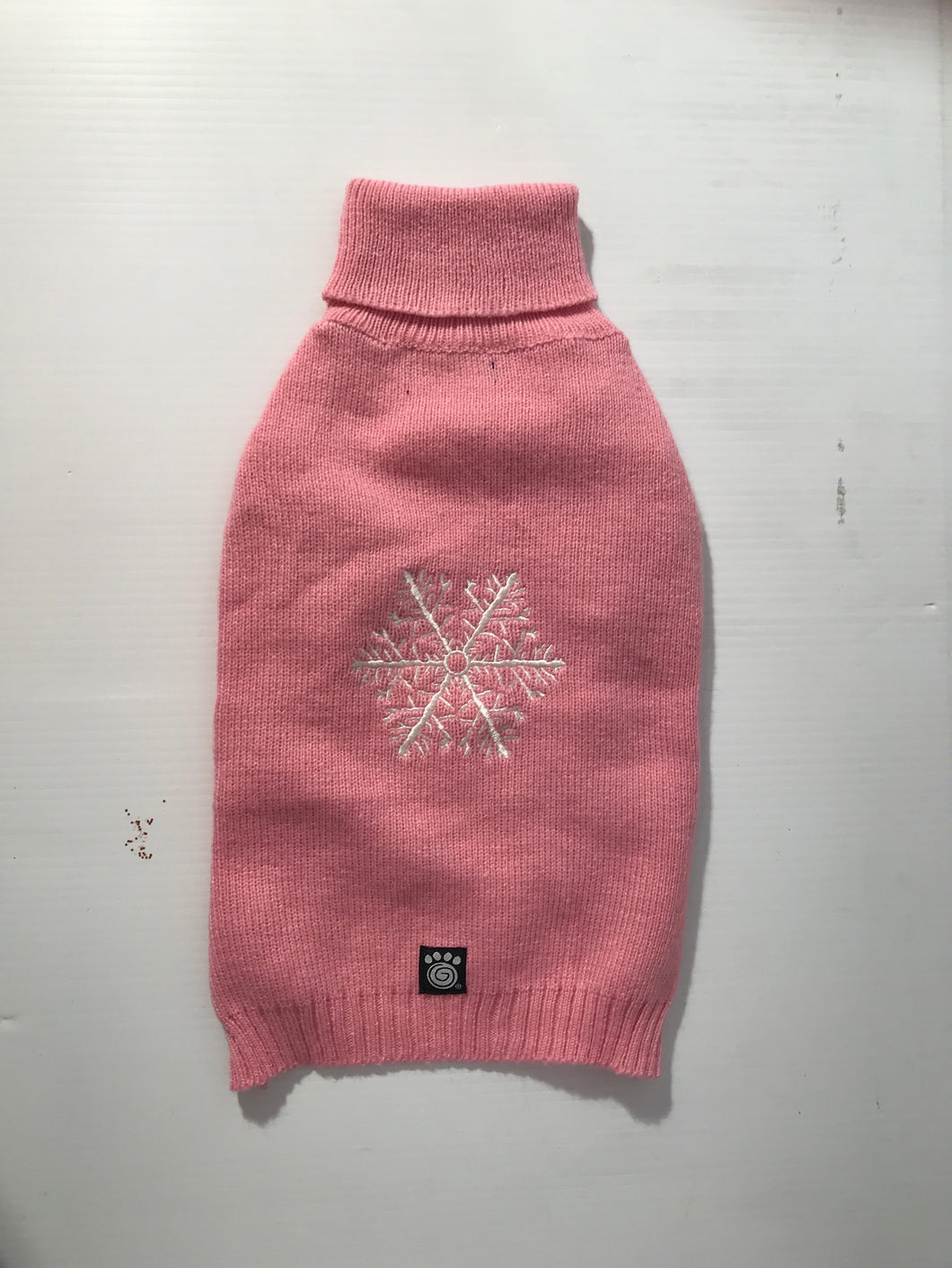 Pink Snowflake Sweater