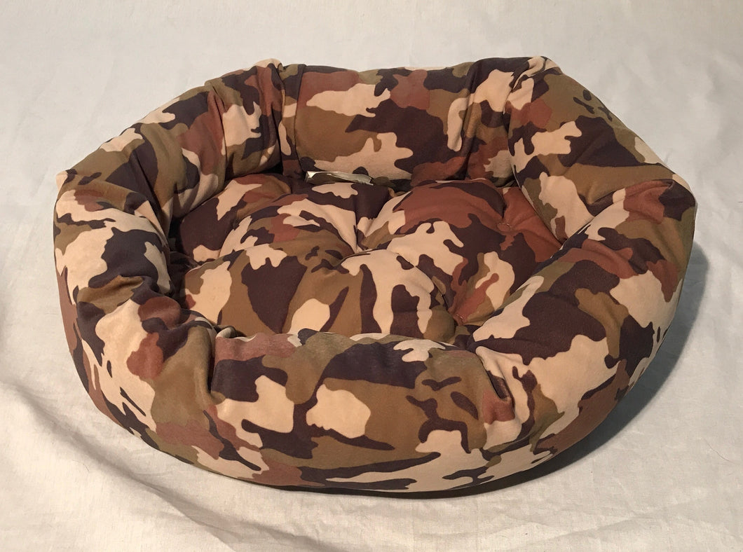 Camo Donut Bed