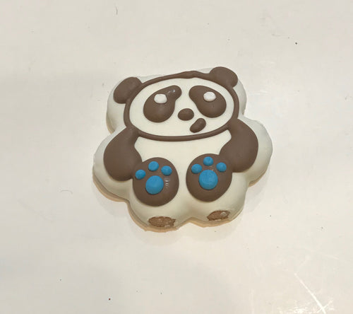 Panda Bear Dog Cookie