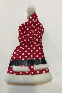 Red Poika Dot Jacket*.