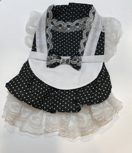 French Maid Apron Dress