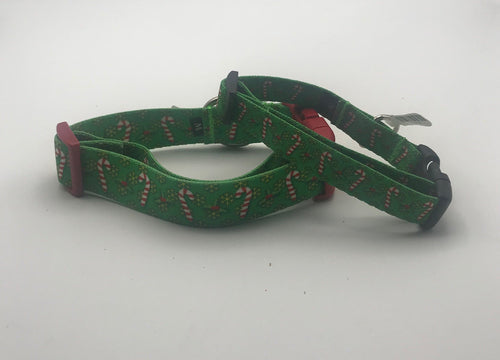Holiday Candy Canes Collars & Leads.