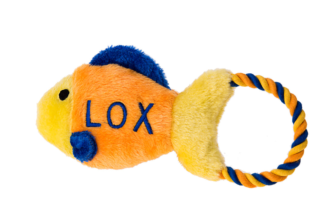 Lox Fish Tug Toy