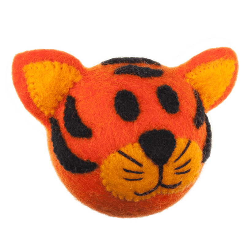 Wooly Wonkz Safari Toy Tiger*.