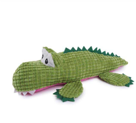 Corduroy Crocs Dog Toys