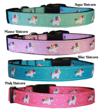 Load image into Gallery viewer, Unicorn Nylon Dog Collars and Leads*.