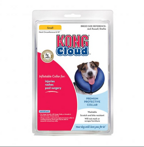 KONG® Cloud™ Dog Collar Blue