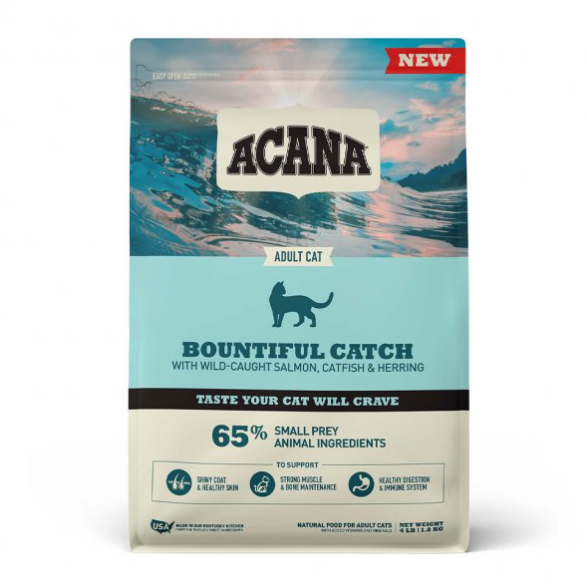 Acana® Bountiful Catch Dry Cat Food 4 Lbs.