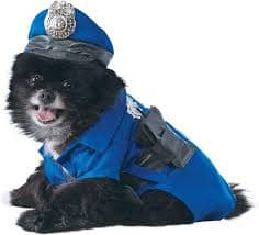 Police Officer Pet Costume*.