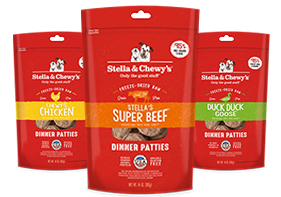 Stella & Chewys Freeze-Dried Raw Dinner Patties