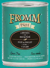 Load image into Gallery viewer, Fromm Chicken & Duck Pâté Dog Food.