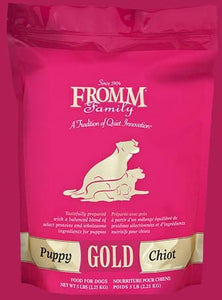 Fromm Gold Puppy Food*.