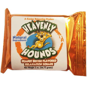Heavenly Hounds Peanut Butter Flavored Relaxation Square